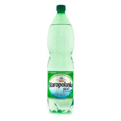 Woda gazowana Staropolanka 800 1,5 l